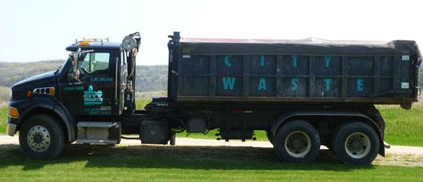 City Waste Truck